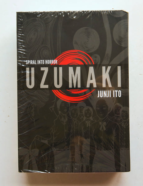 UZUMAKI Spiral Into Horror 3-In-1 Deluxe Edition Junji Ito Viz Media Manga Book