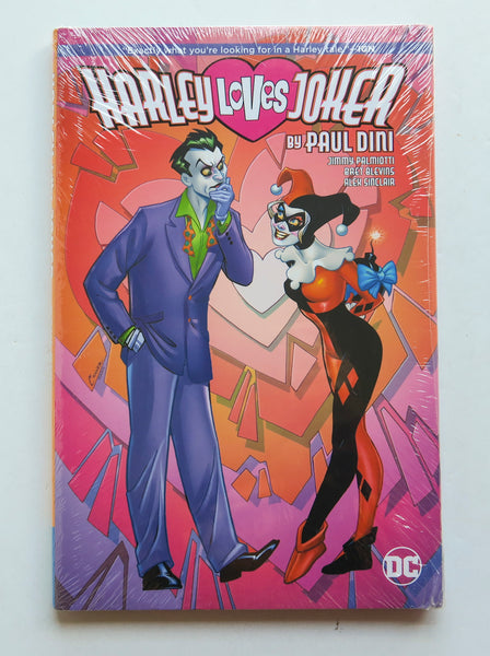 Harley Loves Joker by Paul Dini DC Comics Graphic Novel Comic Book