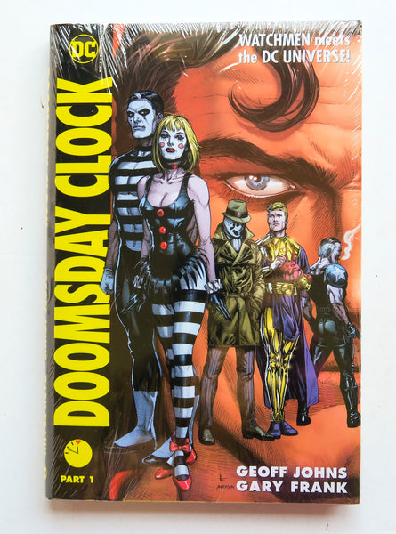 Doomsday Clock Part 1 Watchmen Meets the DC Universe DC Comics Graphic Novel Comic Book