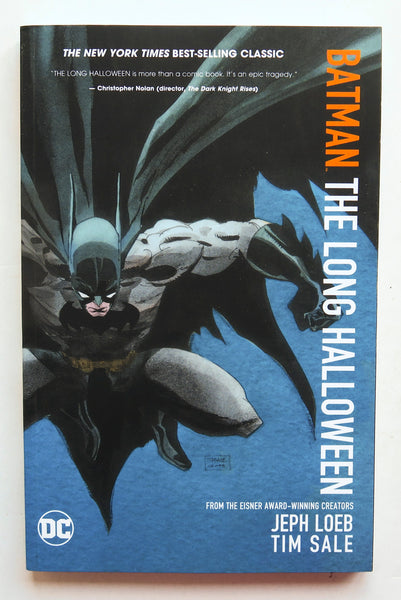 Batman The Long Halloween DC Comics Graphic Novel Comic Book