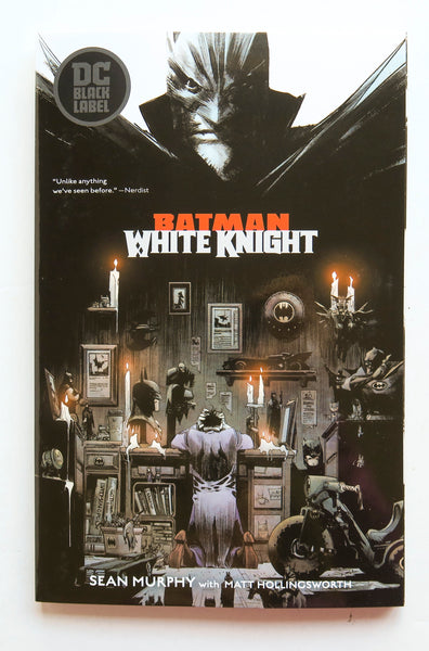 Batman White Knight DC Comics Graphic Novel Comic Book