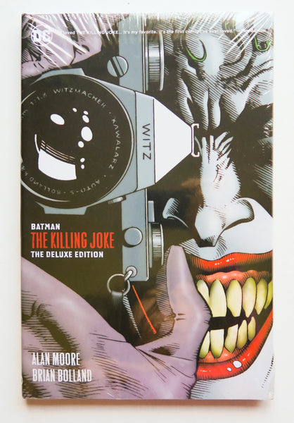 Batman The Killing Joke The Deluxe Edition DC Comics Graphic Novel Comic Book