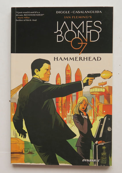 Ian Fleming's James Bond In Hammerhead Dynamite Graphic Novel Comic Book
