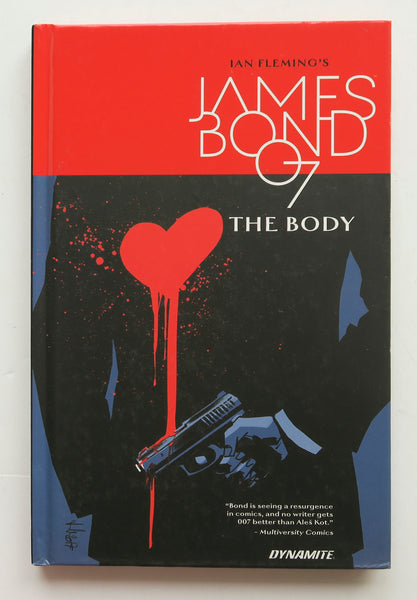 Ian Fleming's James Bond In The Body Dynamite Graphic Novel Comic Book