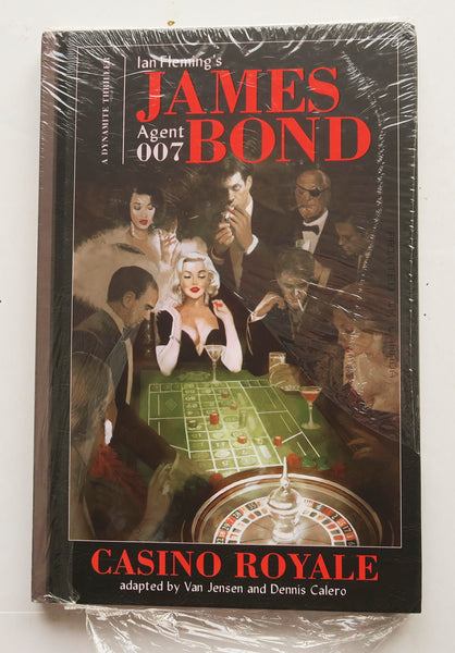 Ian Fleming's James Bond 007 Casino Royale Vol. 1 Dynamite Graphic Novel Comic Book