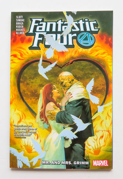 Fantastic Four Mr. And Mrs. Grimm Vol. 2 Marvel Graphic Novel Comic Book