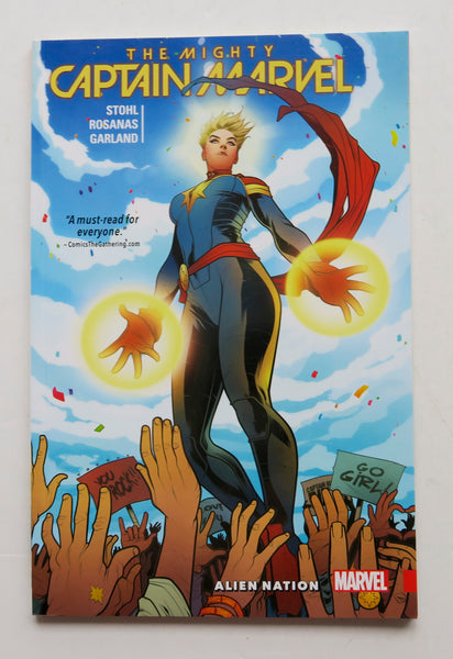 The Mighty Captain Marvel Alien Nation Vol. 1 Graphic Novel Comic Book