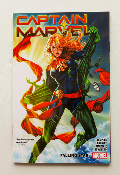 Captain Marvel Falling Star Vol. 2 Marvel Graphic Novel Comic Book