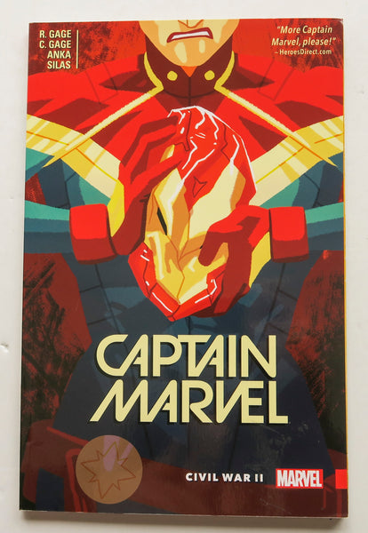 Captain Marvel Civil War II Vol. 2 Marvel Graphic Novel Comic Book