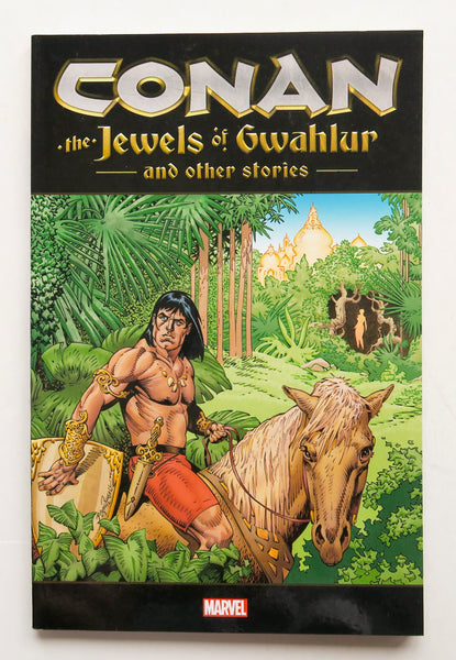 Conan The Jewels of Gwahlur and Other Stories Marvel Graphic Novel Comic Book