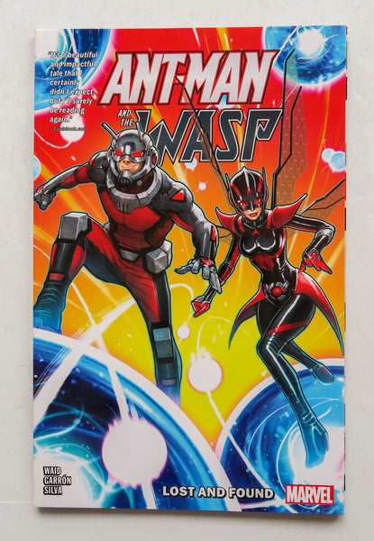Ant-Man and The Wasp Lost and Found Marvel Graphic Novel Comic Book