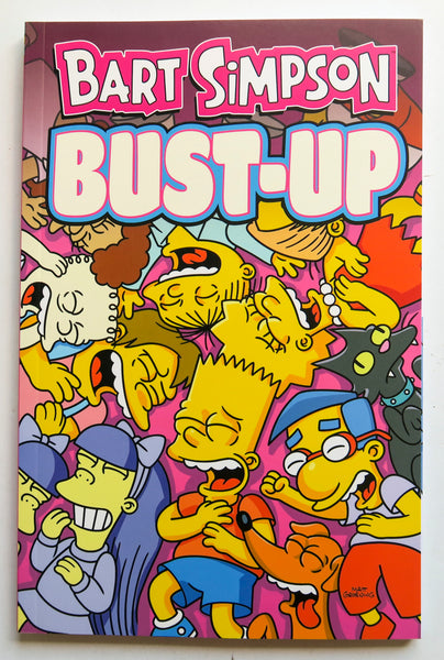 Bart Simpson Bust-Up Simpsons Groening Bongo Graphic Novel Comic Book
