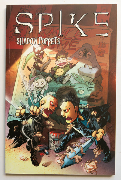 Spike Shadow Puppets Lynch Urru IDW Graphic Novel Comic Book