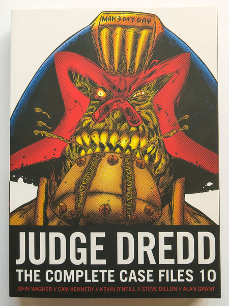Judge Dredd Vol. 10 The Complete Case Files 2000 AD Graphic Novel Comic Book