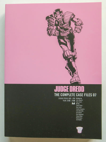 Judge Dredd Vol. 07 The Complete Case Files 2000 AD Graphic Novel Comic Book