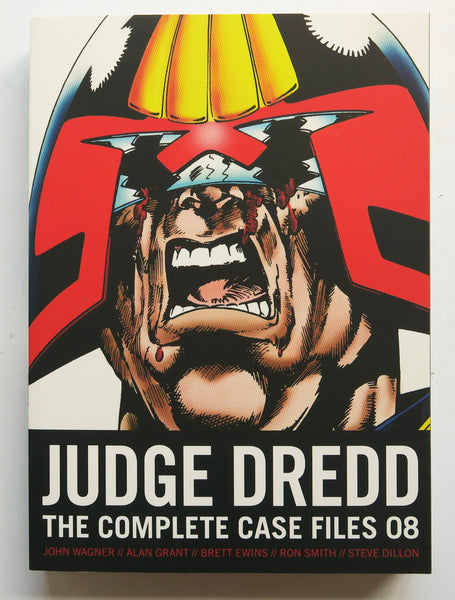 Judge Dredd Vol. 08 The Complete Case Files 2000 AD Graphic Novel Comic Book