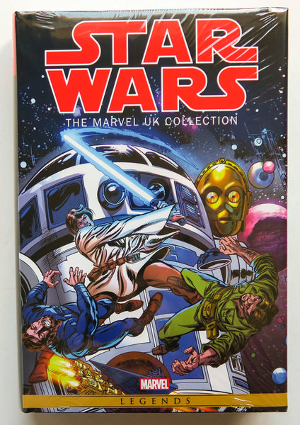 Star Wars The Marvel UK Collection Omnibus Graphic Novel Comic Book