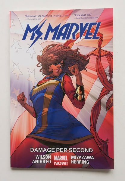 Ms. Marvel Damage Per Second Vol. 7 Marvel Now Graphic Novel Comic Book