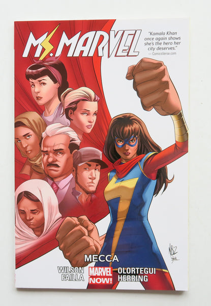 Ms. Marvel Mecca Vol. 8 Marvel Now Graphic Novel Comic Book
