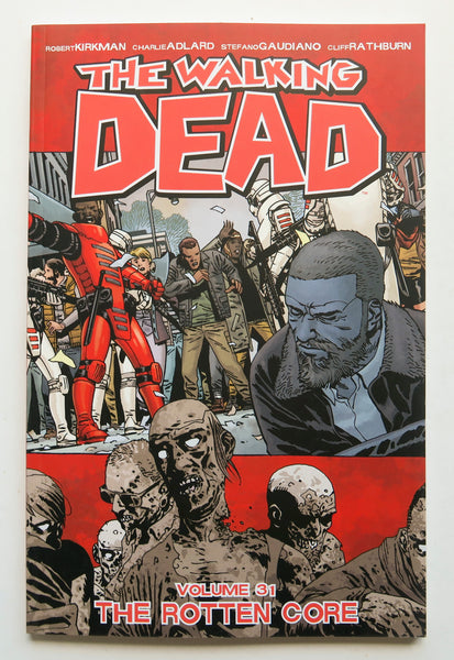 The Walking Dead Vol. 31 The Rotton Core Image Graphic Novel Comic Book