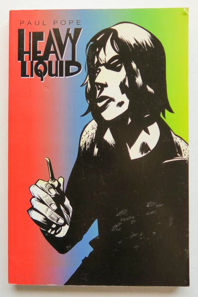 Heavy Liquid Paul Pope Image Graphic Novel Comic Book