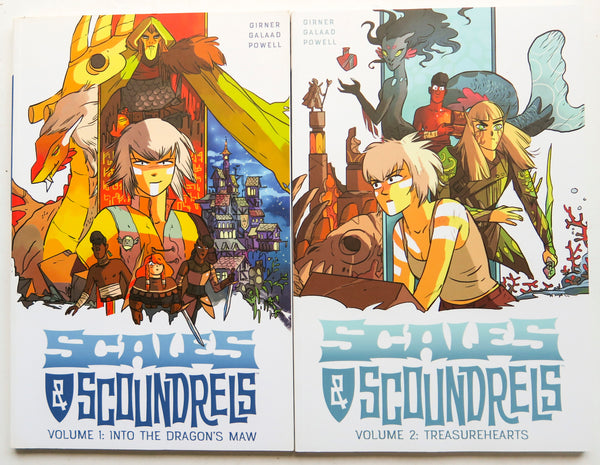 Scales & Scoundrels Vol. 1 & 2 mage Graphic Novel Comic Book