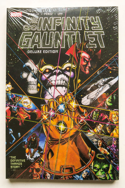 The Infinity Gauntlet Deluxe Edition Marvel Graphic Novel Comic Book