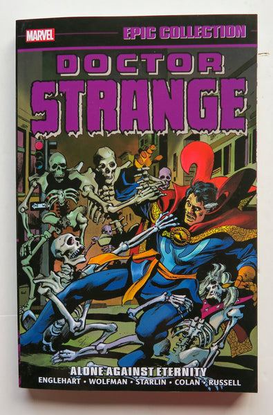 Doctor Strange Alone Against Eternity Marvel Epic Collection Graphic Novel Comic Book