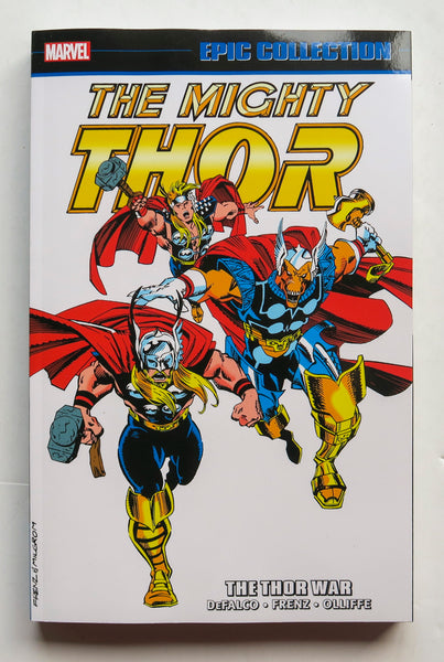 Thor The Thor War Marvel Epic Collection Graphic Novel Comic Book