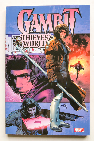 Gambit Thieves' World Marvel Graphic Novel Comic Book
