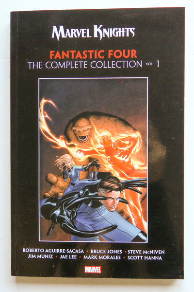 Fantastic Four Complete Collection Vol. 1 Marvel Knights Graphic Novel Comic Book