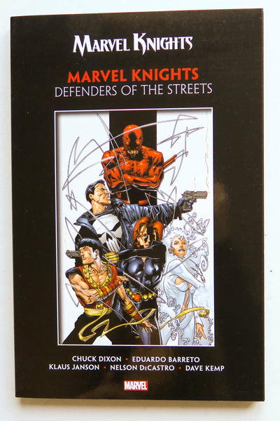 Marvel Knights Defenders of the Streets Graphic Novel Comic Book