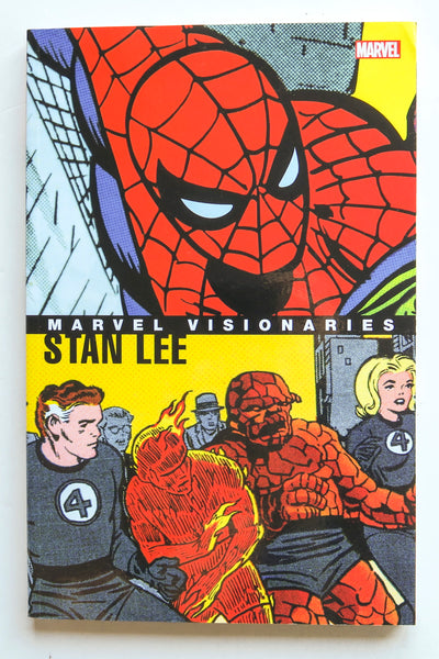 Marvel Visionaries Stan Lee Graphic Novel Comic Book