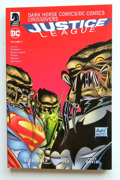 Justice League Vol. 2 Dark Horse DC Comics Crossovers Graphic Novel Book