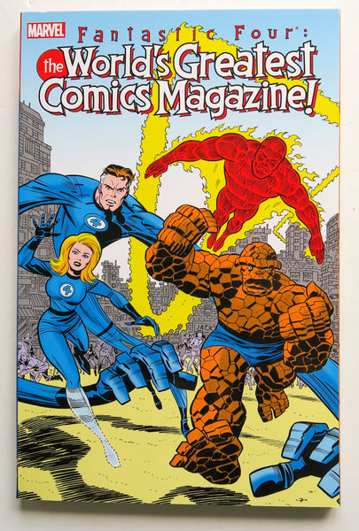 Fantastic Four World's Greatest Comics Magazine Marvel Graphic Novel Comic Book