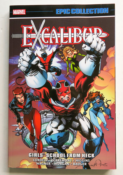 Excalibur Girls' School From Heck Marvel Epic Collection Graphic Novel Comic Book