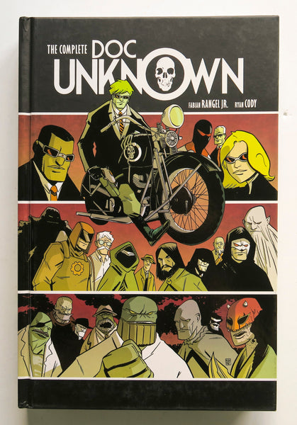 The Complete Doc Unknown Dark Horse Graphic Novel Comic Book