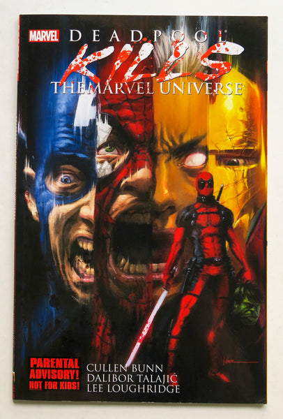 Deadpool Kills The Marvel Universe Graphic Novel Comic Book