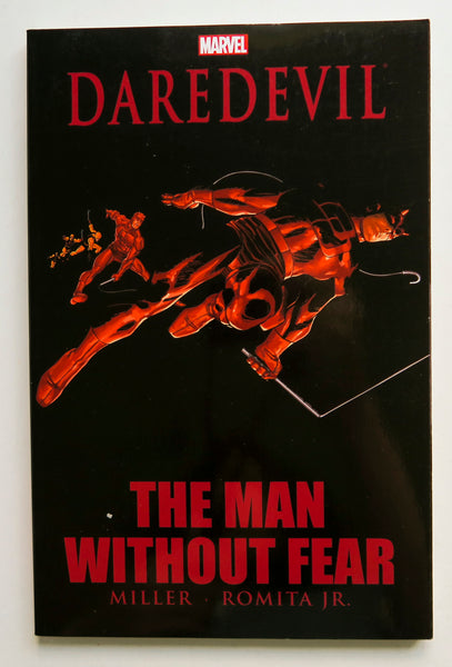 Daredevil The Man Without Fear Marvel Graphic Novel Comic Book
