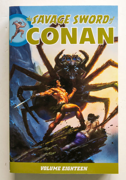 The Savage Sword of Conan Vol. 18 Dark Horse Graphic Novel Comic Book
