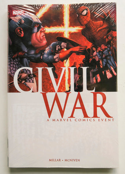 Civil War A Marvel Comics Event Graphic Novel Comic Book