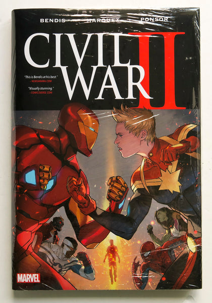 Civil War II 2 Marvel Graphic Novel Comic Book