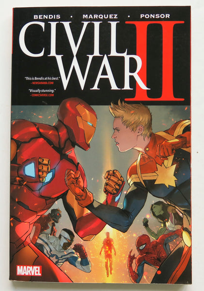 Civil War II 2 Graphic Novel Comic Book