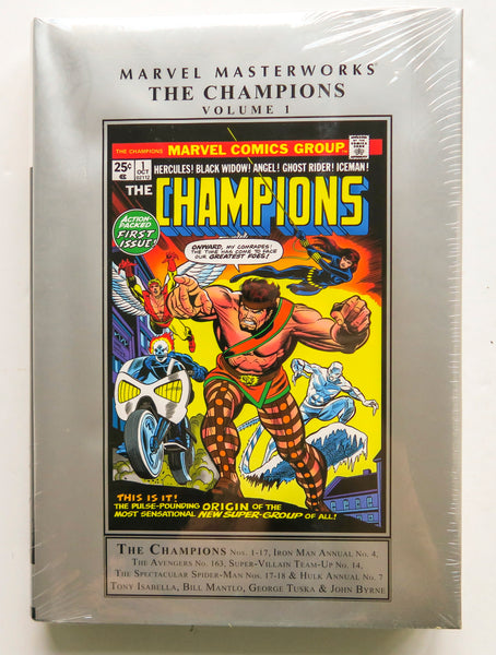 The Champions Vol. 1 Marvel Masterworks Graphic Novel Comic Book