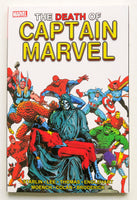 The Death of Captain Marvel Graphic Novel Comic Book