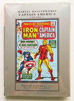 Captain America Vol. 1 Tales of Suspense Iron Man Marvel Masterworks Graphic Novel Comic Book