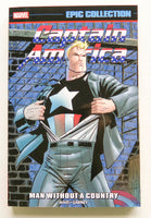 Captain America A Man Without A Country Marvel Epic Collection Graphic Novel Comic Book
