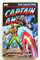 Captain America The Coming of The Falcon Marvel Epic Collection Graphic Novel Comic Book