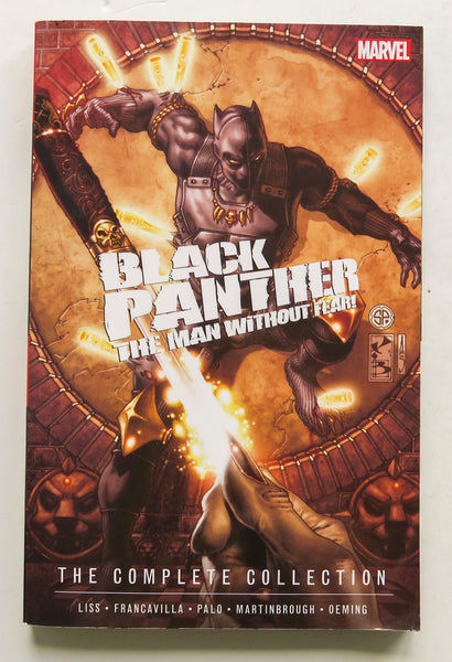 Black Panther The Man Without Fear Complete Collection Marvel Graphic Novel Comic Book