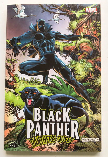 Black Panther Panther's Quest Marvel Graphic Novel Comic Book